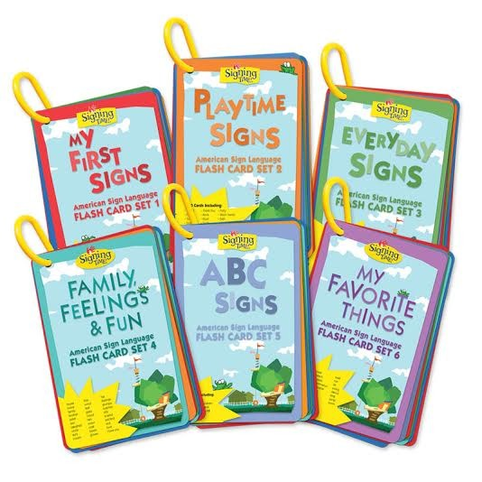 Flash Card Set 1-6